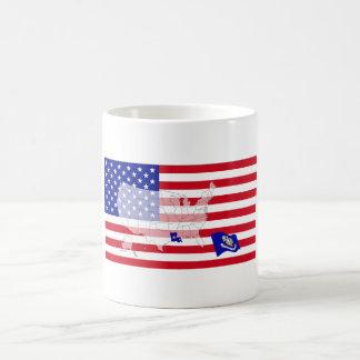 Louisiana, USA Kaffeetasse