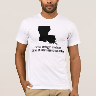 Louisiana-Verbrennung T-Shirt