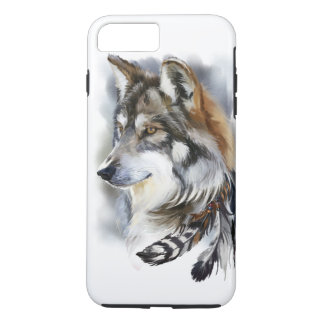 Loup Coque iPhone 7 Plus