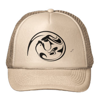 Loutre espiègle casquette