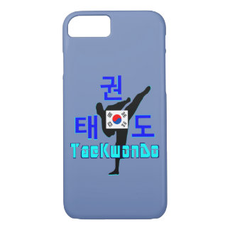 ❤☯✔Love koreanisches Kriegsc$kunst-taekwondo Feder iPhone 8/7 Hülle