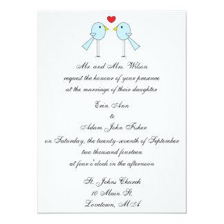 """""""Lovebirds-"""" Einladung"""