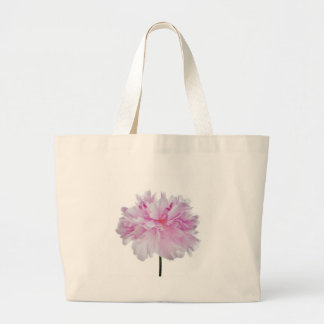 Lovely Bright clignote Peony Flower Photo Sac En Toile Jumbo