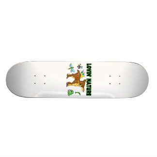 Lovin Natur-Tiere 20,6 Cm Skateboard Deck