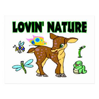 Lovin Natur-Tiere Postkarte
