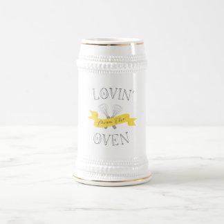 Lovin vom Ofen-Bier Stein Bierglas