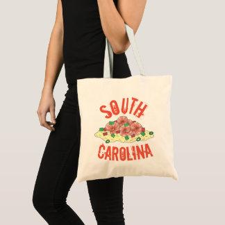 Lowcountry South Carolina Sc-Garnele und Tragetasche