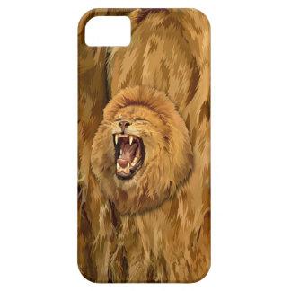 Löwe-Brüllen-Telefon-Kasten iPhone 5 Hülle