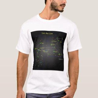 Löwe die Löwe-Konstellation T-Shirt