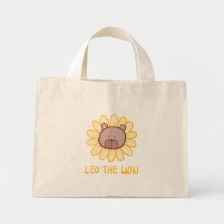 Löwe die Löwe-Taschen-Tasche Mini Stoffbeutel