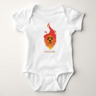 Löwe-Flammen-Kleinkinder Baby Strampler