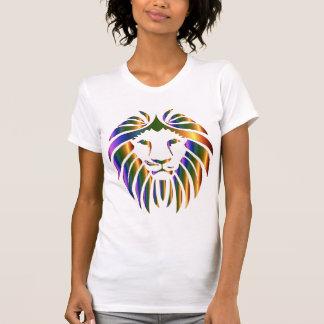 """""""Löwe-Gesichts"""" T-Shirt der Frauen"""