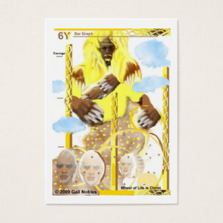 Löwe Jumbo-Visitenkarten
