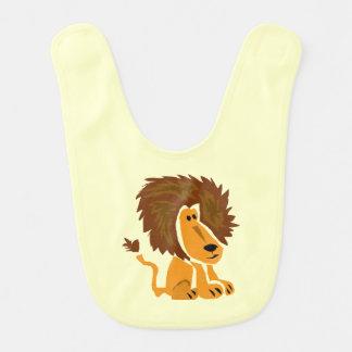 Löwe-Kunst-Baby-Schellfisch Lätzchen