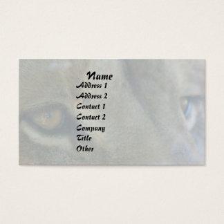 Löwe mustert Tier-tierische große Visitenkarten