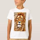Löwe-Porträt T-Shirt
