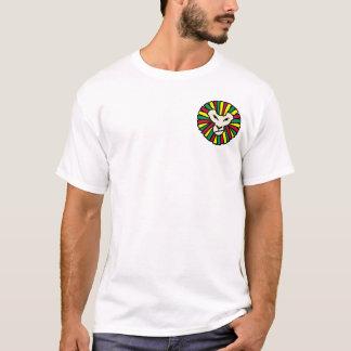 Löwe Rastafarian Flagge T-Shirt