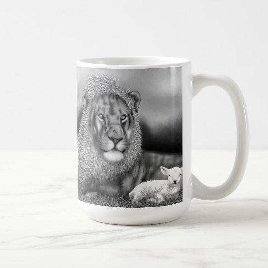 Löwe u. das Lamm Tasse