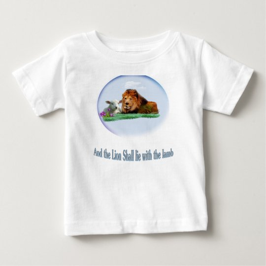 Löwe und das Lamm Baby T-shirt