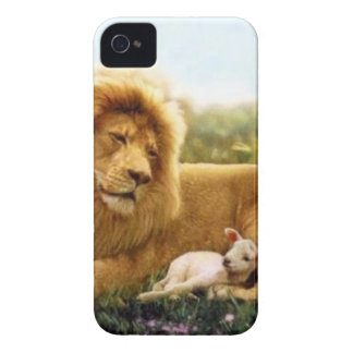 Löwe und Lamm iPhone 4 Case-Mate Hülle