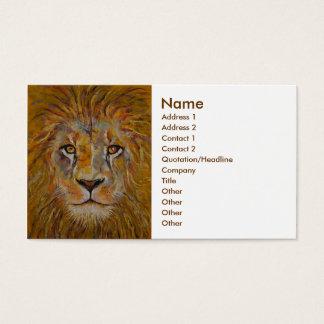Löwe Visitenkarte