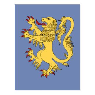 Löwe zügellos postkarte