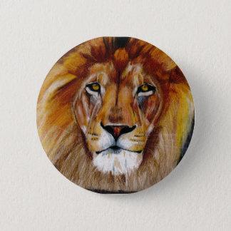 Löweknopf Runder Button 5,1 Cm