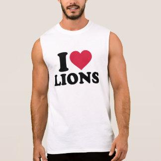 Löwen der Liebe I Ärmelloses Shirt