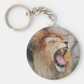 Löwen Standard Runder Schlüsselanhänger