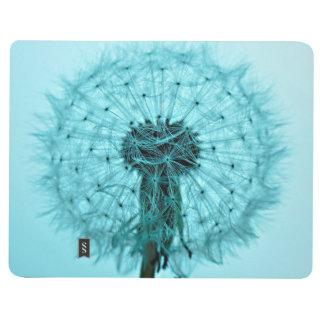 Löwenzahn-Blume Taschennotizbuch