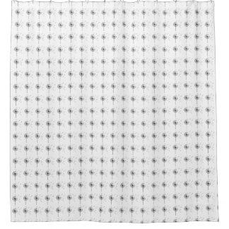 Löwenzahn-Uhr-Duschvorhang Duschvorhang