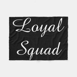 Loyale Gruppen-Decke Skript Fleecedecke