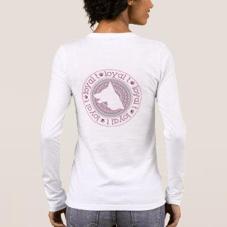Loyale t-Marke - langes Hülsen-Medaillon 1 Langarm T-Shirt