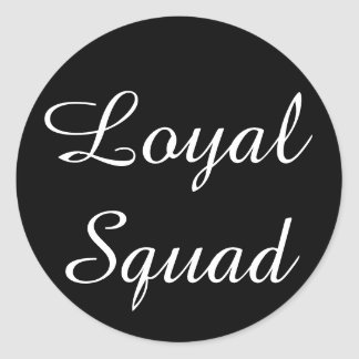 Loyaler Gruppen-Aufkleber Runder Aufkleber