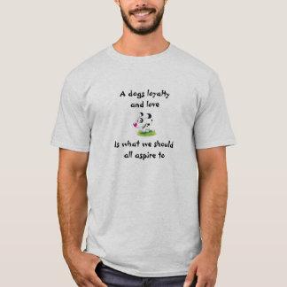 Loyaler Hund T-Shirt