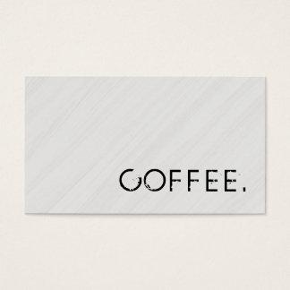 Loyalitäts-Kaffee-Durchschlags-hölzerner Blick #9 Visitenkarten
