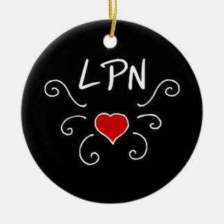 LPN Liebe-Tätowierung Keramik Ornament