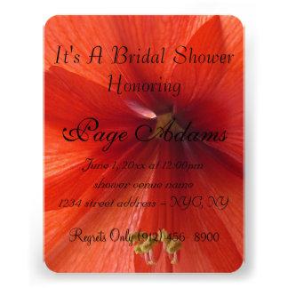 Luau Aloha Hawaiianer blüht Brautparty Personalisierte Einladungen