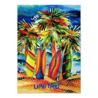 Luau Strand-Party Einladung 12,7 X 17,8 Cm Einladungskarte