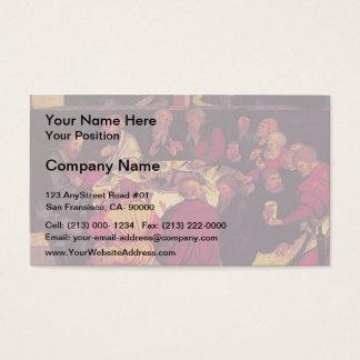 Lucas Cranach das Älteste das letzte Abendessen Visitenkarte