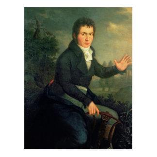 Ludvig van Beethoven, 1804 Postkarte