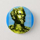 Ludwig II. König Bayern Runder Button 5,7 Cm