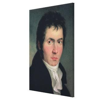 Ludwig van Beethoven, 1804 Impressions Sur Toile
