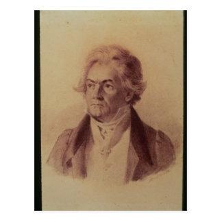 Ludwig van Beethoven, 1824 Postkarte