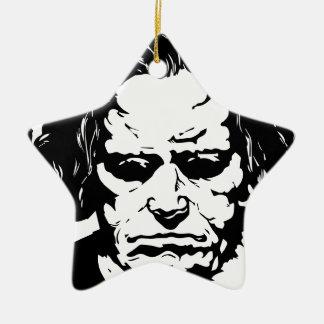 Ludwig van Beethoven - berühmter deutscher Keramik Ornament