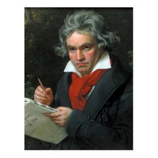 Ludwig van Beethoven-Porträt Postkarte