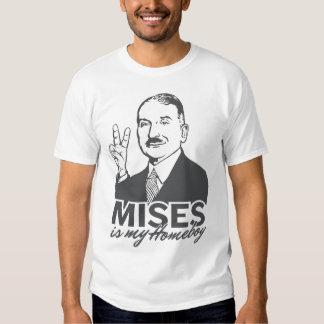 Ludwig von Mises ist mein Homeboy-T - Shirt