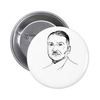 Ludwig von Mises Runder Button 5,1 Cm