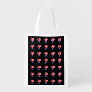Luft-Ballon-wiederverwendbare Tasche Wiederverwendbare Einkaufstasche