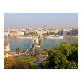 Luftaufnahme von Budapest, Ungarn Postkarte
